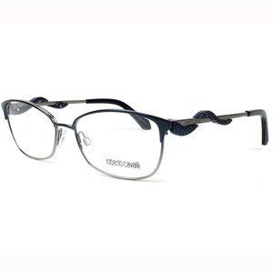 Roberto Cavalli Cat Eye Eyeglasses Frame Blue